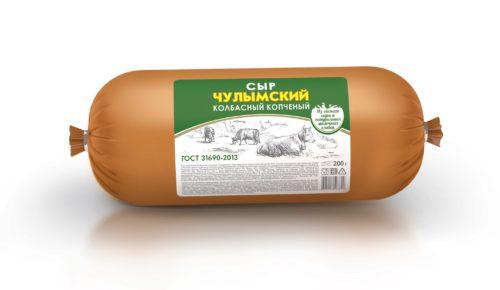 """Сыр плавленый копченый """"Чулымский"""""""
