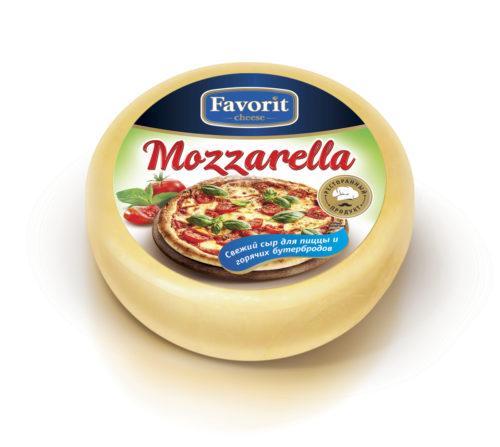 """Сыр свежий """"Favorit cheese"""" моцарелла для пиццы"""
