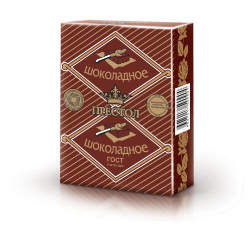 """спред растительно-жировой """"Престол"""" (шоколадное) 50%"""